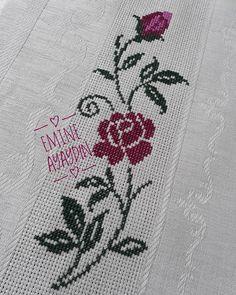 Hand Embroidery Videos, Cross Stitch Rose, Diy And Crafts, Crochet, Design, Tiny Cross Stitch, Crochet Motif, Cross Stitch Embroidery, Smocking