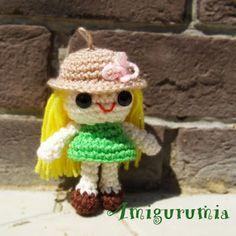 200 схем амигуруми на русском: брелки