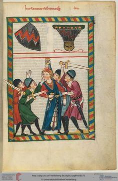 Great Heidelberg manuscript handbook (Codex Manesse) - Zurich, ca. 1300 to ca. 1340