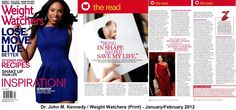 Weight Watchers Before and After | Dr. John M. Kennedy in Weight Watcher's Magazine | Marina Weight Loss ...