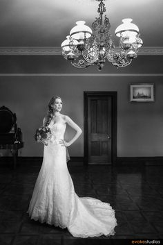 Perfectly fitted wedding gown