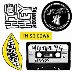 5 Seconds of Summer (5SOS) on Twitter | Stickersssss! with the EP bundle store.universalmusic.com/5sos/