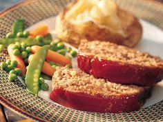 Delicious meatloaf.  My men loved it.