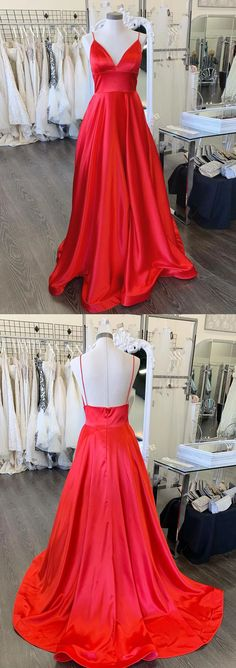 A-line Spaghetti Straps Red Long Prom Dresses Evening Dresses - A-line Spaghetti Straps Red Long Prom Dresses Evening Dresses .Prom Dresses Prom Dresses, Source by amyprom_dress - Red Formal Dresses, Elegant Prom Dresses, Beautiful Prom Dresses, Cheap Prom Dresses, Formal Evening Dresses, Junior Prom Dresses, Straps Prom Dresses, Backless Prom Dresses, Ball Gown Dresses