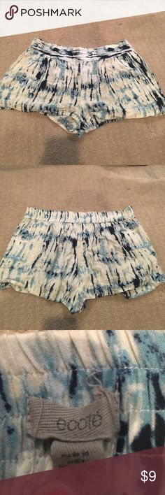 Urban Outfitters Ecote Tye Dye Shorts Urban Outfitters Ecote Tye Dye Shorts! Size small - runs bigger!!! Barely worn and in great condition. Urban Outfitters Shorts