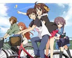 Haruhi Suzumiya. Happy times that will never return..........