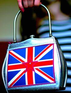 Helen Rochfort Union Jack Handbag