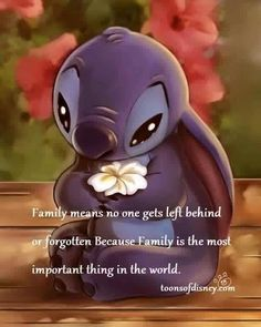 Quotes Family Tattoo Lilo Stitch 59 Ideas For 2019 Cute Disney Quotes, Disney Memes, Disney Love, Cute Quotes, Inspirational Disney Quotes, Disney Family Quotes, Cute Family Quotes, Disney Sayings, Motivational