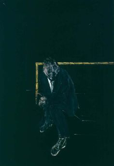 Francis Bacon, Self-Portrait | Self-Portrait (1956) | Francis Bacon, Irish, 1909-1992  Oil on canvas | 78 x 54 inches