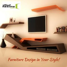 Interior design Furniture Creative - Furniture is one of the most vital objects in each and every home Here we have a collection of creative furniture designs for your inspiration Enjoy! Tv Unit Furniture, Design Furniture, Home Furniture, Rustic Furniture, Leather Furniture, Unique Furniture, Furniture Projects, Office Furniture, Furniture Makers