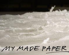MY MADE PAPER  design Sirpa Kivilompolo  www.mymadepaper.fi