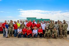 Regional Power Mission Exercise participants gather for a group photo at a FEMA Distribution Center at Fort Worth, Tx. Regional Power Mission Exercises (RPME) train and exercise the temporary emergency power community to ensure stakeholders are prepared to deploy and ready to execute National Response Framework missions. USACE conducts RPME in order to ensure that the Temporary Emergency Power community maintains the highest level of readiness to execute disaster response missions.