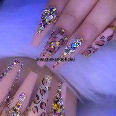 62 Acrylic Nail Designs With Rhinestones Bling Part 44 Bling Acrylic Nails, Bright Summer Acrylic Nails, Best Acrylic Nails, Rhinestone Nails, Bling Nails, Acrylic Nail Designs, Bling Nail Art, Swarovski Nails, Pastel Nails