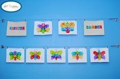 Display your kid's art on wire or on a clothes line mounted to the wall. You can exchange it every so often and also keep it from piling up on the counter where it can't be enjoyed by all!