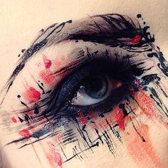 @ida_elina's Instagram page offers a stimulating window into her mind as an artist... READ MORE: http://blog.furlesscosmetics.com/ida-elina/