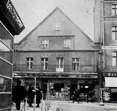 An der Westseite des Alten Marktes, an der Ecke Lindenstrasse, Insterburg