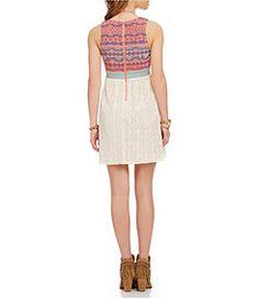 C&V Embroidered Dress