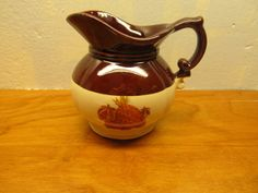 SMALL VINTAGE McCOY PITCHER MADE IN USA