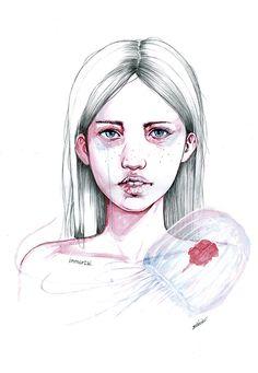 "Dice Irene X: ""Lo que no te mata te deja como estabas"". (2014)"