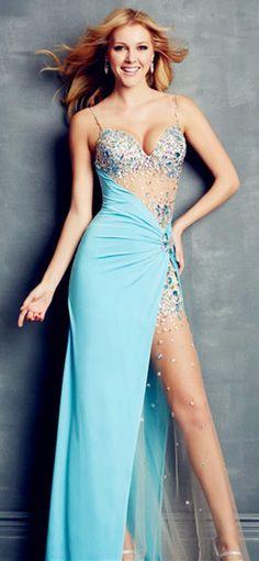 sexy split prom dress