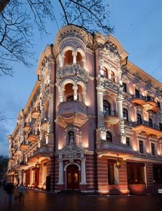 The Luxury Collection Hotels & Resorts debuts in Ukraine with Hotel Bristol, Odessa Hotel Bristol, Luxury Collection Hotels, Virtual Travel, Building Structure, City Landscape, Architecture Old, Old Buildings, Places Around The World, Hotels And Resorts