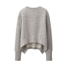 WOMEN Urban Sweat Long Sleeve Pullover - UNIQLO UK Online fashion store