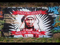 Artist Gregg Deal confronts  Native American stereotypes, racism and identity through street art. Photo courtesy Gregg Deal.