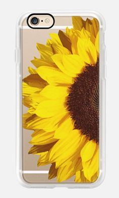 Casetify iPhone 7 Case and Other iPhone Covers - SUNFLOWER by MARTA OLGA KLARA | #Casetify