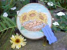 Made to Order Bread and Sunflowers by TheWhimsicalPixie11 on Etsy, $20.99