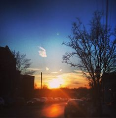 Takomapark sunset