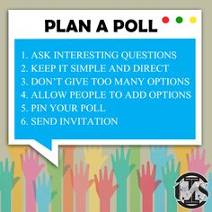 6 Tips to help you plan interesting polls within your Facebook Groups.  #Facebook #poll #tips #advice #socialmedia #digitalmarketing Seo Services, Search Engine Optimization, Web Development, Ecommerce, Digital Marketing, Web Design, Advice, Social Media, Ads