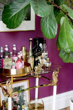 Refreshing Rooms with Something Old, Something New - Swoon Worthy Decor, Room, Interior Decorating, Bar Cart Decor, Living Room Decor, Affordable Interior Design, Interior Styling, Bars For Home, Bar