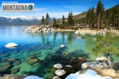 Tahoe Lake in Sierra Nevada, do you like it? #lake #mountain #Nevada #feel  -------------------------------------------------- Lago Tahoe in Sierra Nevada, ti piace? #lago #montagna #Nevada #feelings