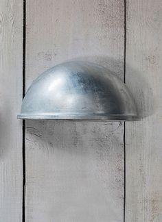St Ives Eye Down Light - Hot Dipped Galvanised