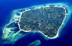 Gili air island, Indonesia