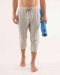Lululemon Foundation Crop yoga pants. These sorta make we wanna start doing yoga to justify buying them...