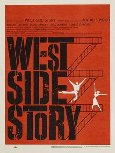"""""""West Side Story"""" (1961). COUNTRY: United States. DIRECTOR: Robert Wise. Jerome Robbins."""