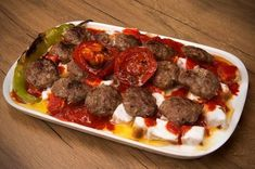The local taste of Eskişehir is guaranteed that you will not be able to taste Balaban kebab and want to eat two plates! Here is the recipe for Balaban kebab that you can& get enough to eat! Turkish Meatballs, Turkish Recipes, Ethnic Recipes, Turkish Kitchen, Kebab Recipes, Healthy Comfort Food, Healthy Food, Meatball Recipes, Street Food