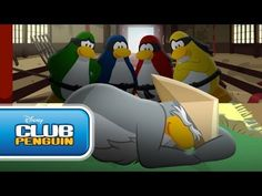 "clubpenguin.com video ""never wake a sleeping sensei...ever!""  I luv the ending! plz watch! ~Keziah Appel"