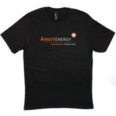 Ambit Energy Unisex Black Crew #dsaccess #ambitenergy #apparel #ambitenergyshirt #tshirt