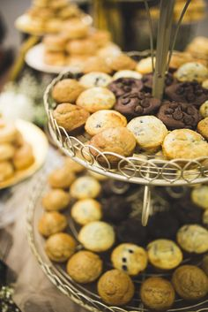 #happilyevergeorges Brunch Wedding Reception Muffins!