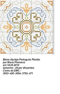 Sewing pattern graph: cross stitch, plastic canvas.