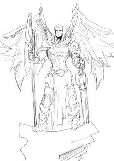 battle god by Sketchydeez on @DeviantArt
