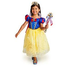 Disney Snow White Costume Collection for Girls | Disney Store Dress $44.95
