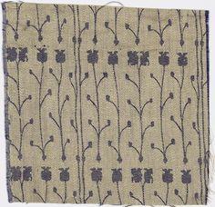 Richard Riemerschmid - Drapery Fabric, 1926