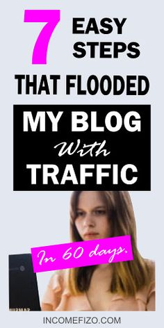 You just started your blog as a stay at home mom and you want to make money blogging, check this guide to drive massive traffic to your blog in 30 days #bloggingformoms #bloggingideas #blogtraffic #bloggingtips