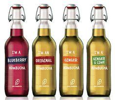 Love Kombucha #packaging #design