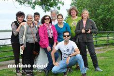 Grupo de fotografía del PUAPAM. Fotografía a orillas del río Paraná