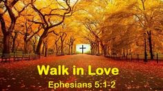 Good Morning from Trinity, TX  Today is Tuesday October 20, 2015   Day 293 on the 2015 Journey   Make It A Great Day, Everyday!  Walk in Love  Today's Scripture: Ephesians 5:1-2; 1 Corinthians 16:13-14 https://www.biblegateway.com/passage/?search=Ephesians+5%3A1-2%3B+1cor+16%3A13-14&version=NKJV Therefore be imitators of God as dear children. And walk in love, as Christ also has loved us and given Himself for us... Inspirational Song https://youtu.be/Y1SytKIfmHY