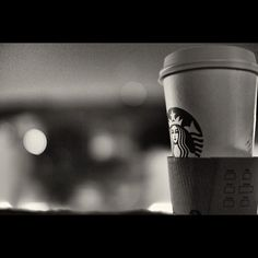 Late Night Coffee and BW Photography